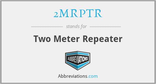2MRPTR - Two Meter Repeater