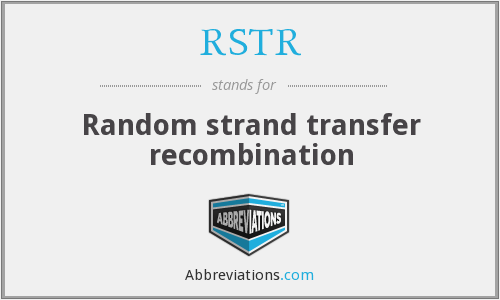 RSTR - Random strand transfer recombination