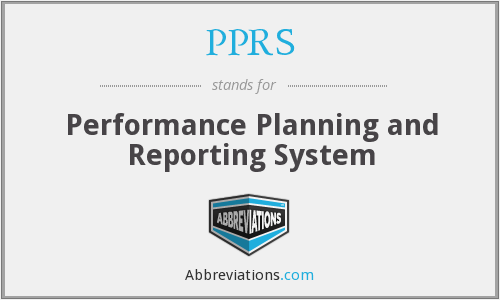 What does PPRS stand for?