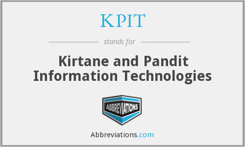 What does KPIT stand for?
