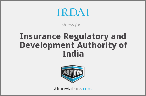 What does IRDAI stand for?
