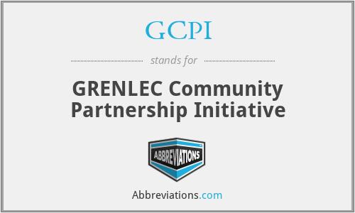 GCPI - GRENLEC Community Partnership Initiative
