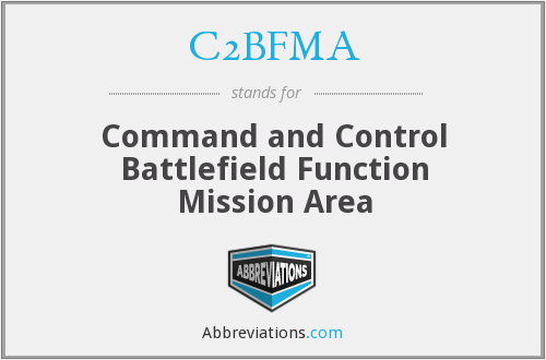 What does C2BFMA stand for?