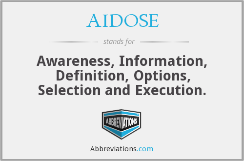 What does AIDOSE stand for?