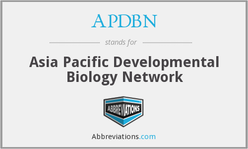 What does APDBN stand for?