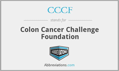 CCCF - Colon Cancer Challenge Foundation