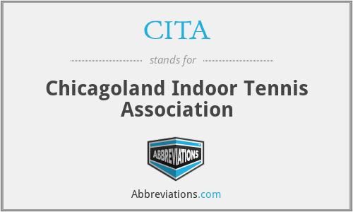 CITA - Chicagoland Indoor Tennis Association