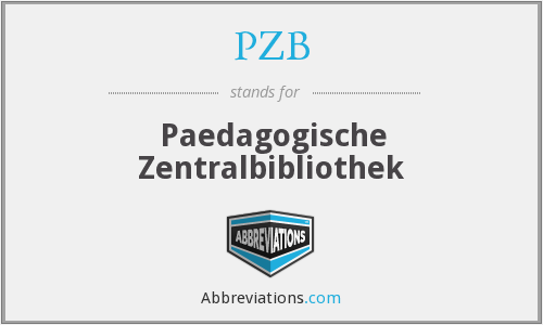 What does PZB stand for?