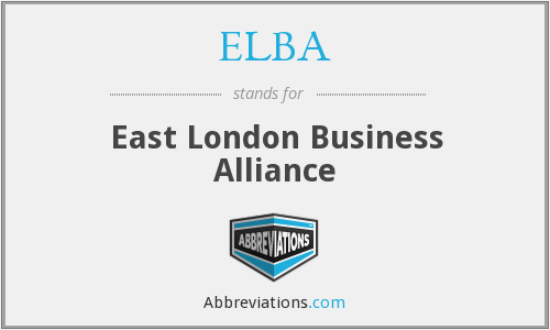 What does ELBA stand for?