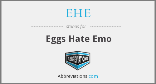 EHE - Eggs Hate Emo