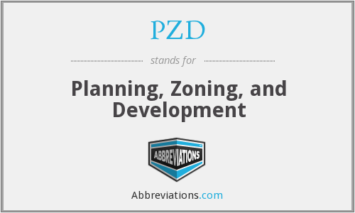 PZD - Planning, Zoning, and Development