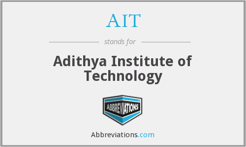 AIT - Adithya Institute of Technology