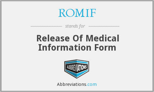 What does ROMIF stand for?