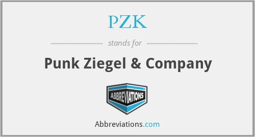 PZK - Punk Ziegel & Company