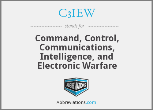 What does C3IEW stand for?