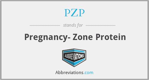 PZP - Pregnancy- Zone Protein
