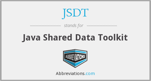 What does JSDT stand for?