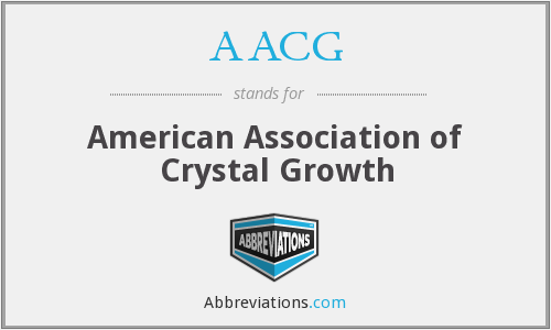 AACG - American Association of Crystal Growth