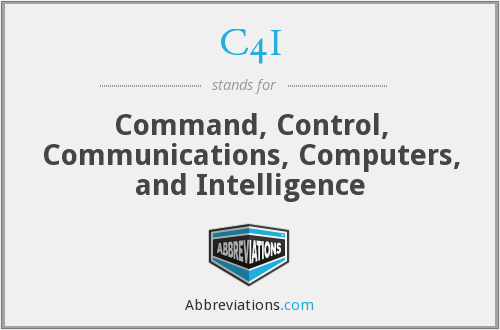 What does C4I stand for?