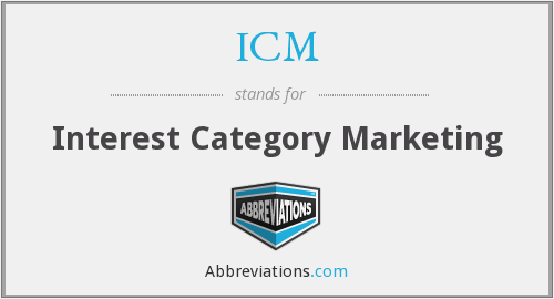 ICM - Interest Category Marketing