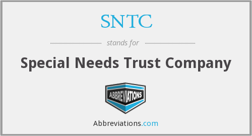 SNTC - Special Needs Trust Company