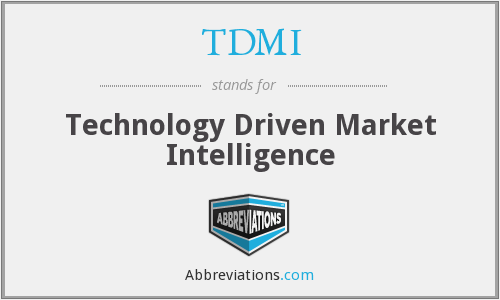 What does TDMI stand for?