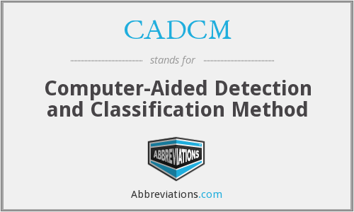 What does CADCM stand for?