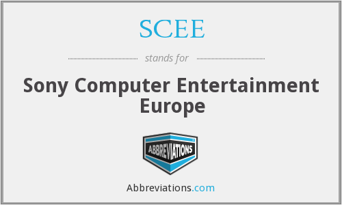 SCEE - Sony Computer Entertainment Europe