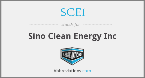 What does SCEI stand for?