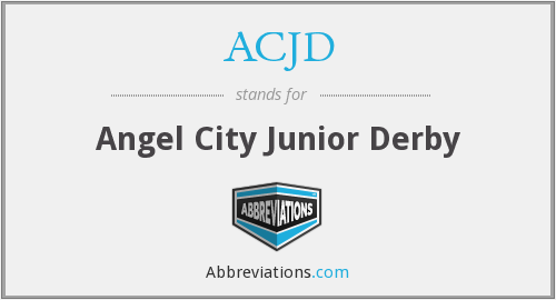 What does ACJD stand for?