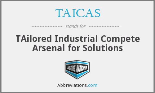 What does TAICAS stand for?