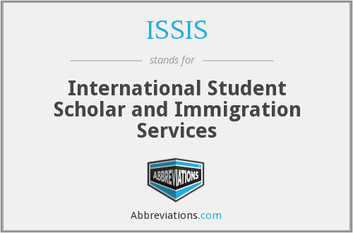 What does ISSIS stand for?