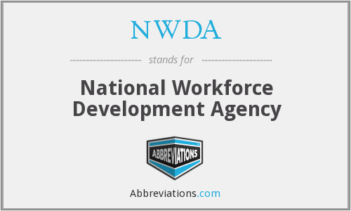 What does NWDA stand for?