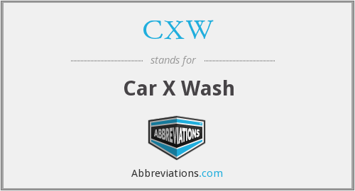 What does CXW stand for?