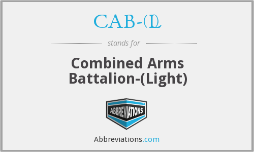 What does CAB-(L) stand for?