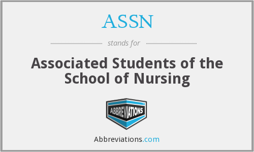 ASSN - Associated Students of the School of Nursing