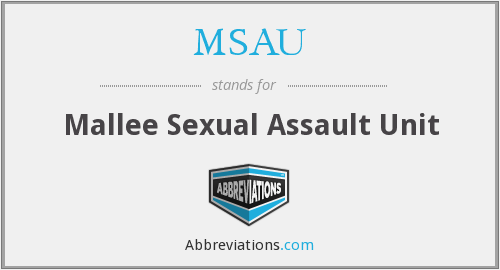 What does MSAU stand for?