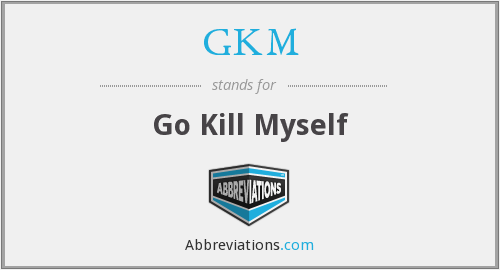 What does GKM stand for?
