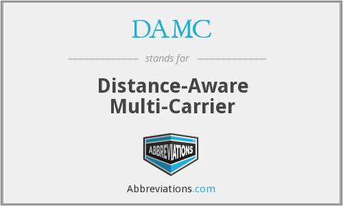 What does DAMC stand for?