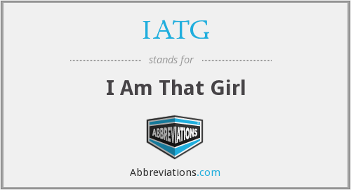 What does IATG stand for?