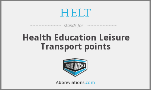 What does HELT stand for?