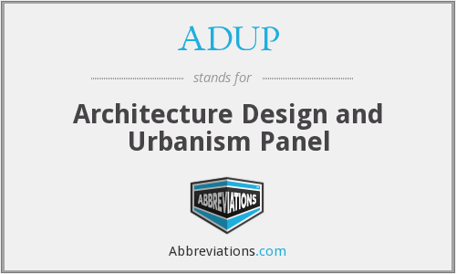 What does ADUP stand for?