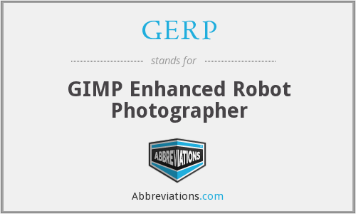 GERP - GIMP Enhanced Robot Photographer