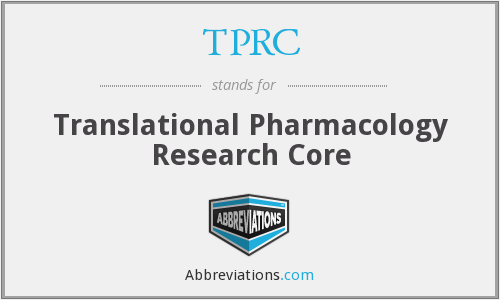 What does TPRC stand for?