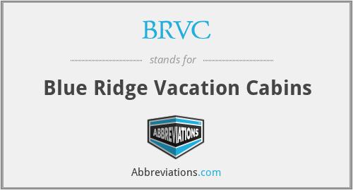 BRVC - Blue Ridge Vacation Cabins