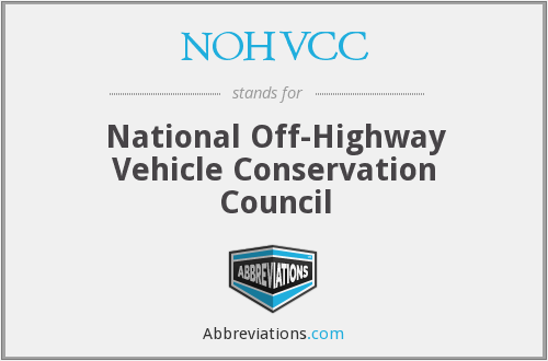 What does NOHVCC stand for?