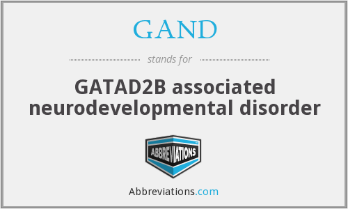 What does GAND stand for?
