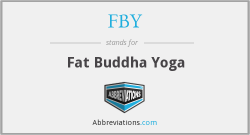 FBY - Fat Buddha Yoga