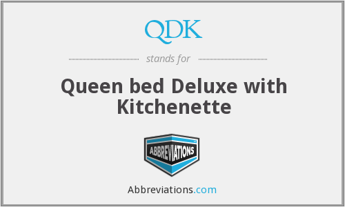 QDK - Queen bed Deluxe with Kitchenette