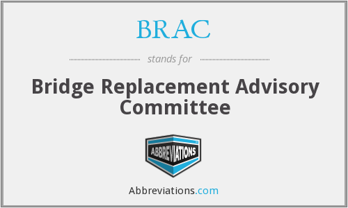 What does BRAC stand for?